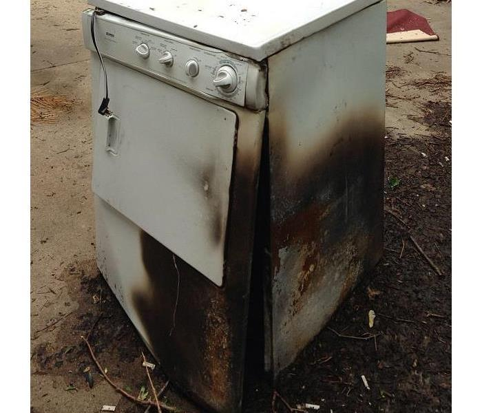 Fire Damage Dryer Fire Prevention Tips
