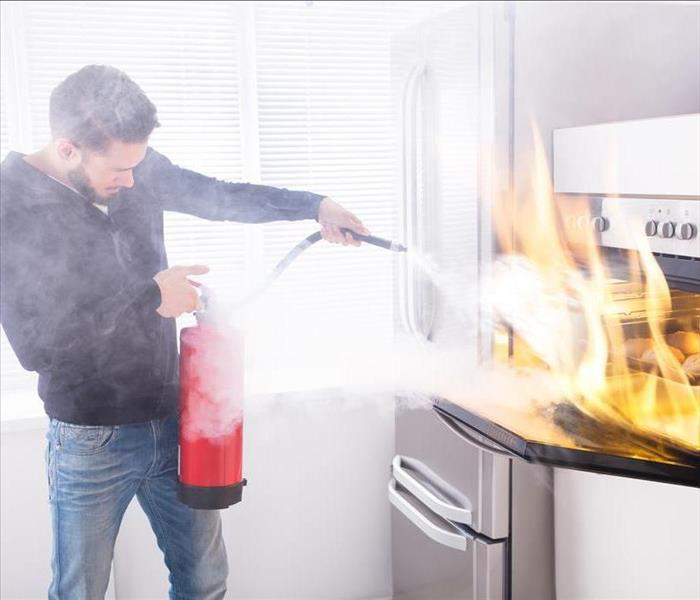 Fire Damage Fire Safety Tips While Cooking